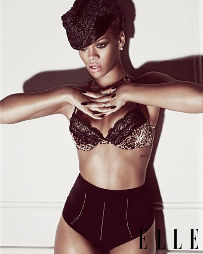 Rihanna - ELLE - next beyonce? not yet