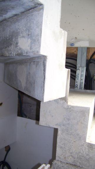 les 25 meilleures id es de la cat gorie escalier beton sur. Black Bedroom Furniture Sets. Home Design Ideas
