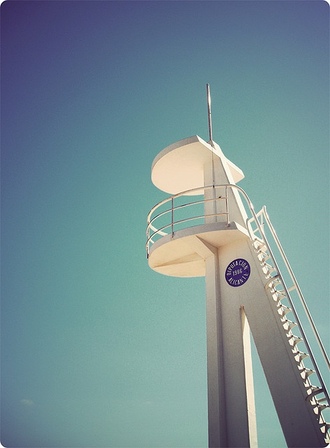 lifeguard lookout in Alicante by Ian Macca