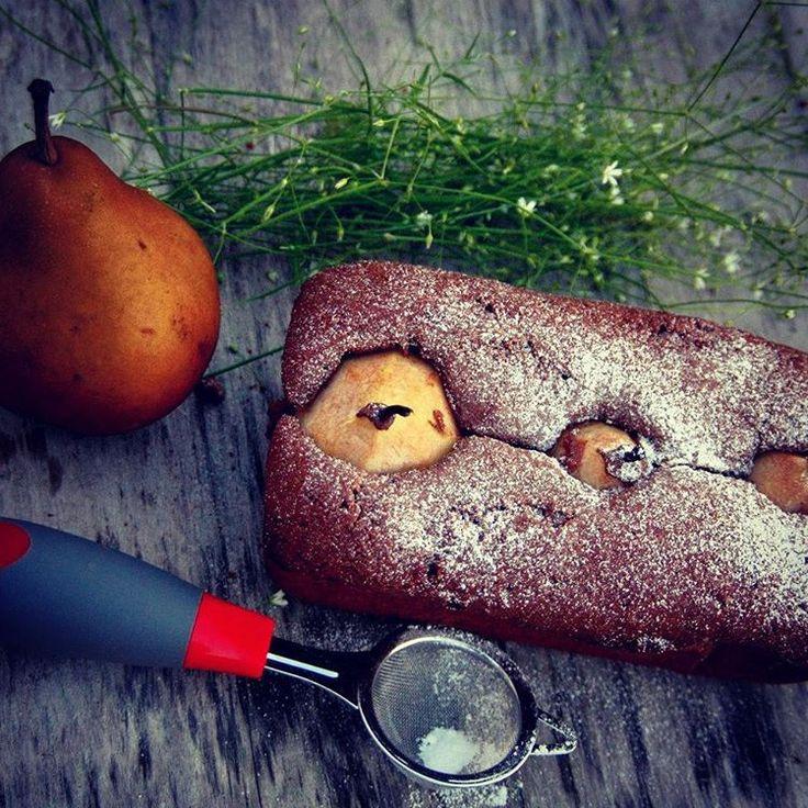 Шоколадный #кекс с грушей,  #рецепт тут http://agrimonygirl.tumblr.com/post/146168089829/шоколадный-кекс-с-грушей #выпечка #неслипнется #несфоткалнепоел #растижопа #десерт #сделанослюбовью #agrimonygirl #foodgram #foodfoto #foodporn #cake #desert #recept #madewithlove