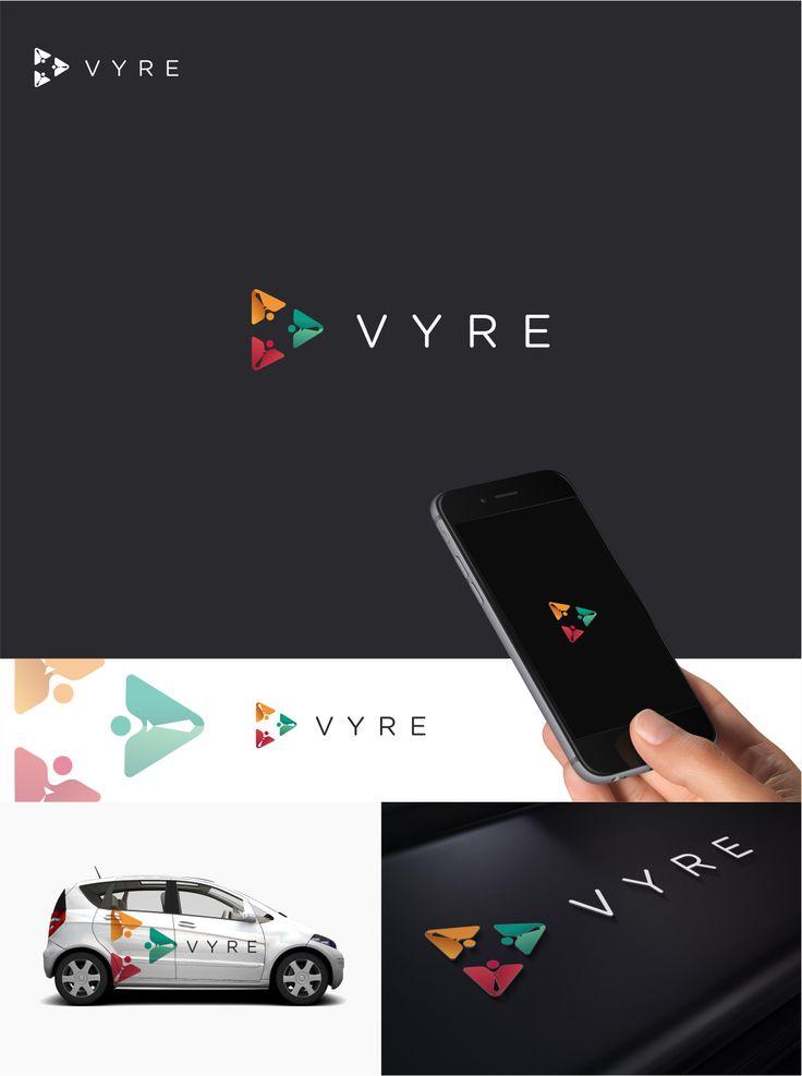VYRE logo designs.  Logo designs by me/Dito.K