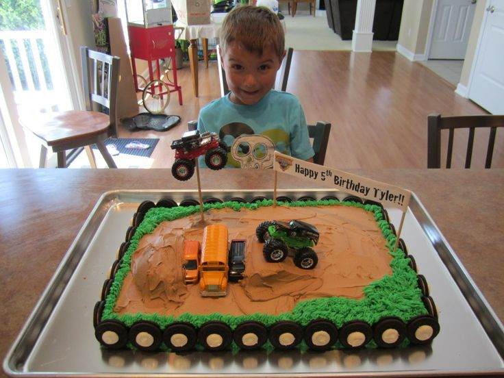 oreo monster truck cakes | Monster Truck Cake: How to Position a Truck in the Air