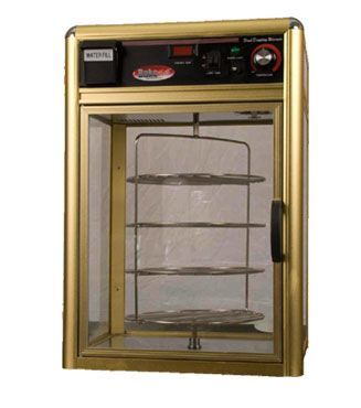 http://snackshacksupplies.com/product/bakemax-rotating-13-pizza-warmer-display-unit-bmpwr13/ BakeMax Rotating 13″ Pizza Warmer Display Unit (BMPWR13) A heated merchandising cabinet is a great way to immediately increase sales and customer satisfaction!This model has been designed to keep pizza warm and fresh.$2,509.95
