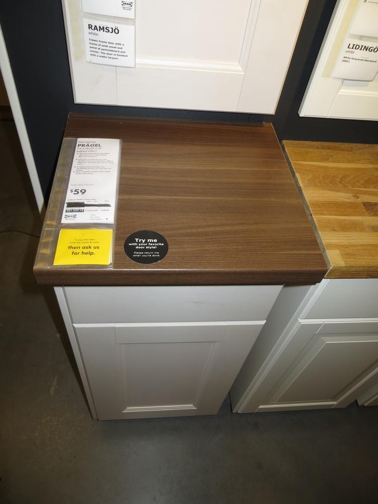 IKEA Pragel Wood Countertop