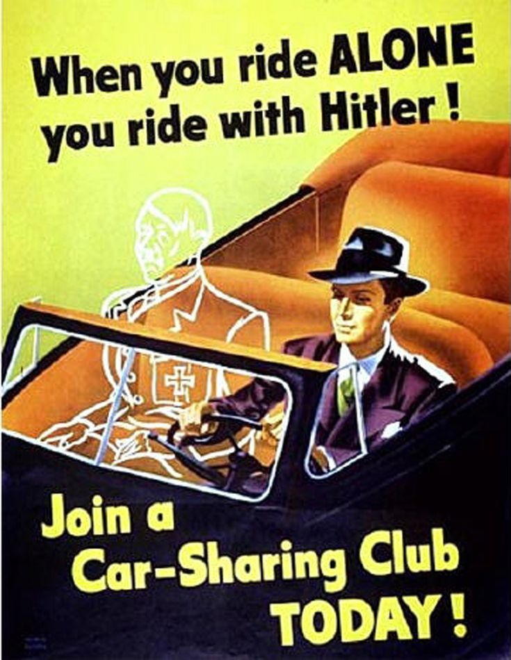 Car Sharing 1943 USA