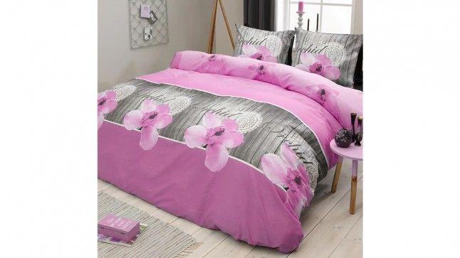 Dekbedovertrek COT Orchidee Pink