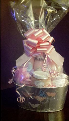 Mothers Day Fragrant Gift Basket.  Visit https://www.facebook.com/Bettylousbath