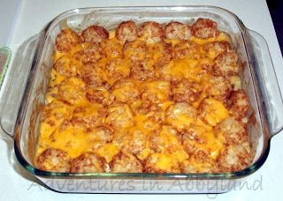 Dinner Ideas: Quick & Easy Tater Tot Casserole