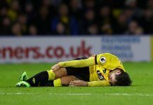 Mauro Zarate suffers cruciate ligament injury in Watford draw with West Ham