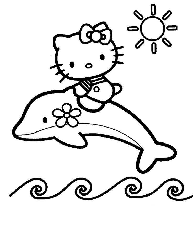 18 besten Hello Kitty Ausmalbilder Bilder auf Pinterest | Ausdrucken ...