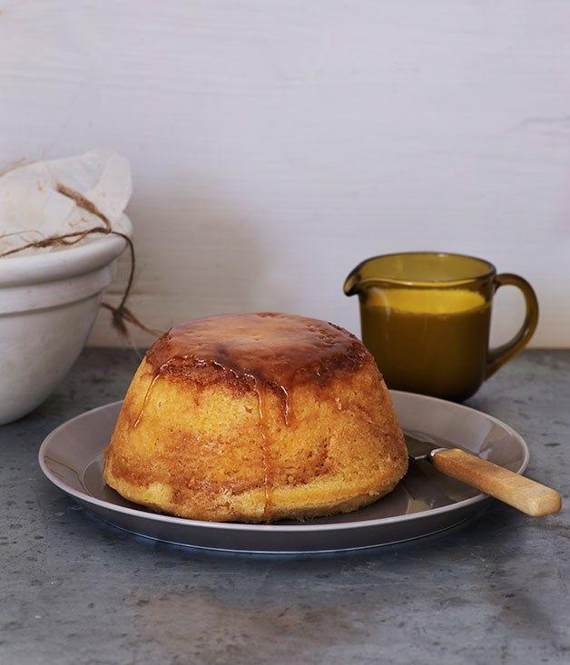 Lemon and brown sugar pudding :: Gourmet Traveller