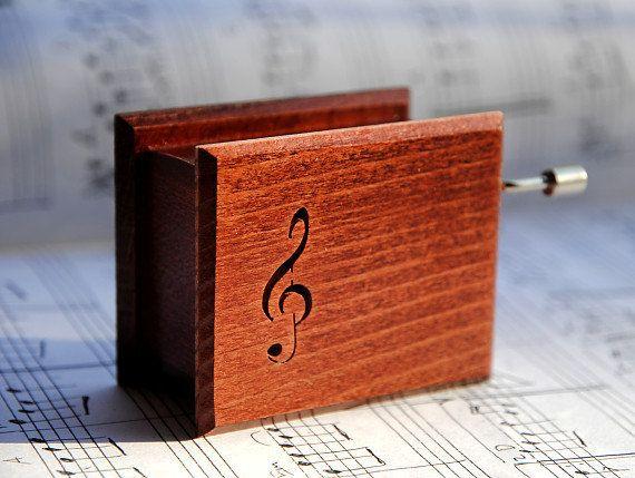 Wooden music box  Beethoven Für Elise ZD09e003 by asmanykata, $38.00