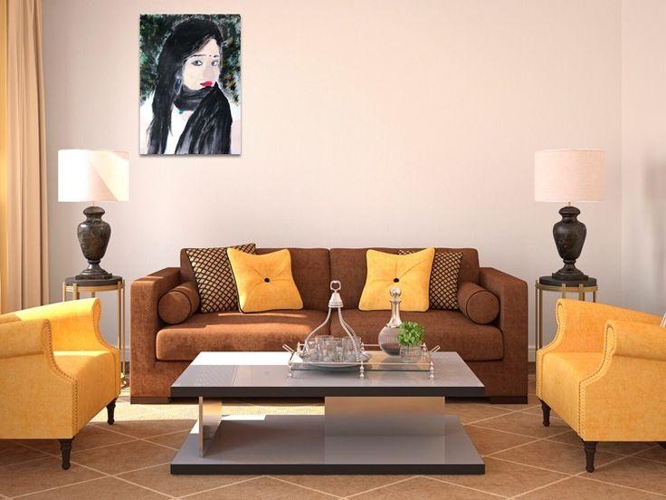 """Self esteem "" by Ria Rushin Joseph. Paintings for Sale. Bluethumb - Online Art Gallery"