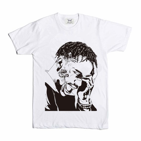 Travis Scott La Flame Rodeo White Tee by BabesnGents on Etsy // www.etsy.com/ca/listing/243877863/travis-scott-la-flame-rodeo-white-tee