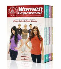 Women Empowered Self Defense 6 DVD Set by Gracie Academy | Budovideos Inc