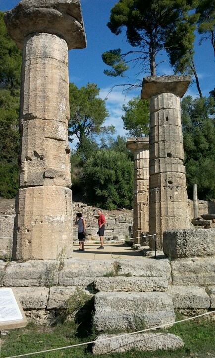 Olympia, katakolon, greece. Been there done that and it was so awesome. This and Delphi were my favorite mainland Greek cities when I studied abroad!