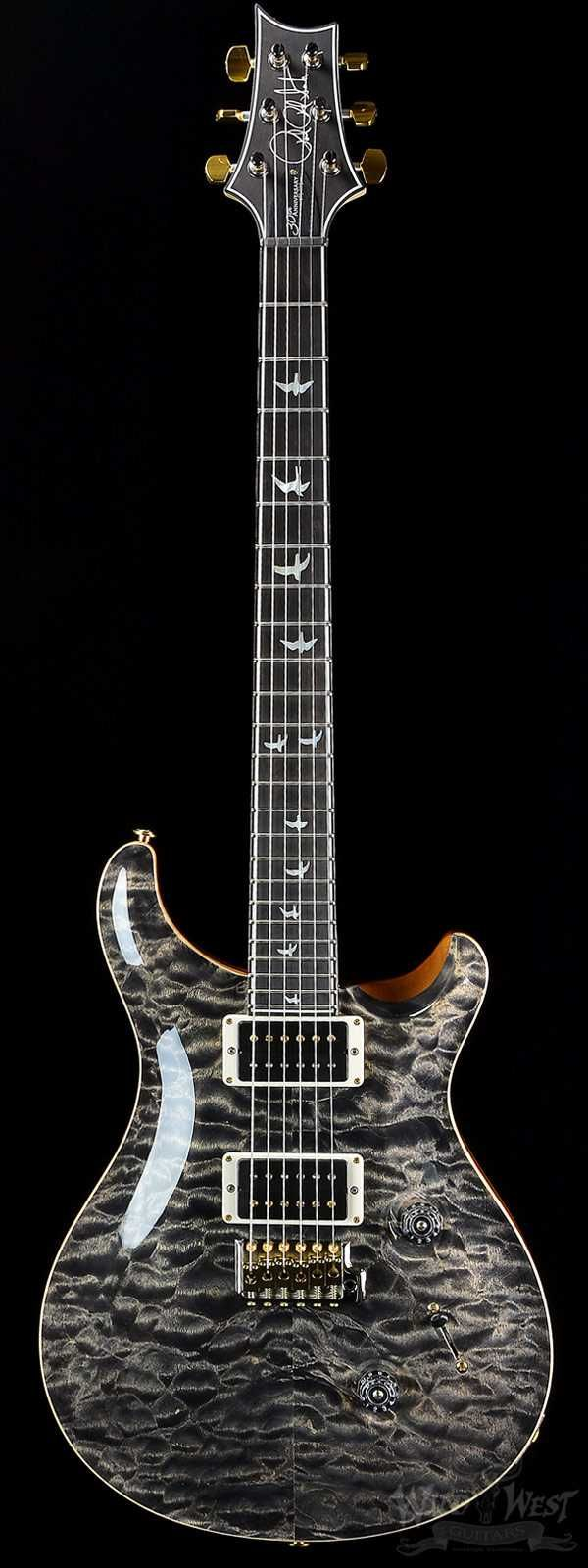 1081 Best Guitars Images On Pinterest Electric Prs Guitar Wiring Diagram Custom 24 30th Anniversary Wood Library Charcoal 10 Top With Private Stock Neck