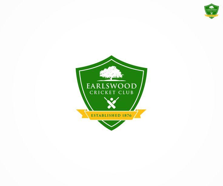 Logo Design by Westruk for Earlswood Cricket Club #cricket #logo #design #DesignCrowd #sport