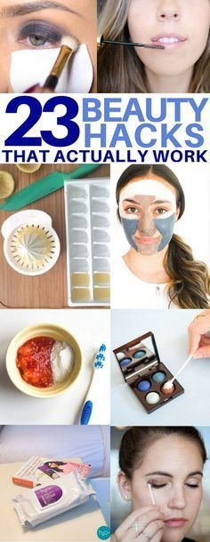 The BEST beauty hacks you'll regret missing! How to whiten your teeth, get rid of cellulite, and more. Life hacks every girl should know, makeup tips, beauty tips and tricks