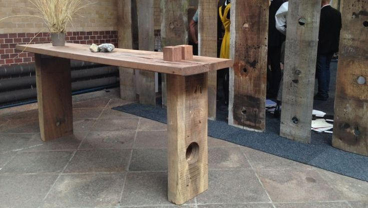 THORS Sif Console table in reclaimed wood. #consoletable #barbord #hightable #højbord