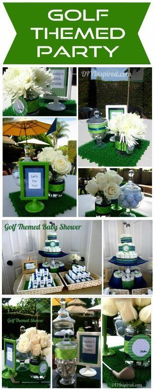 Golf Themed Party Ideas - DIY Inspired