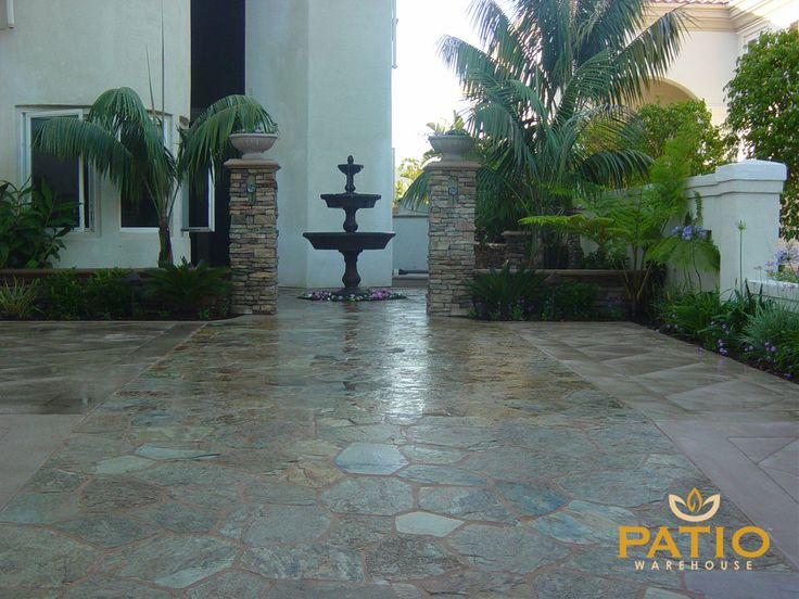 Flagstone Patio, Warehouse