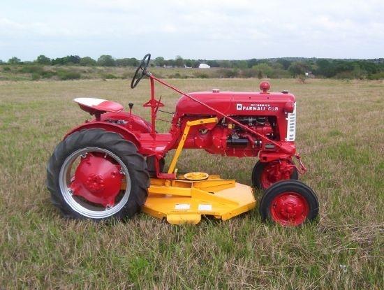 Farmall Cub tractor.