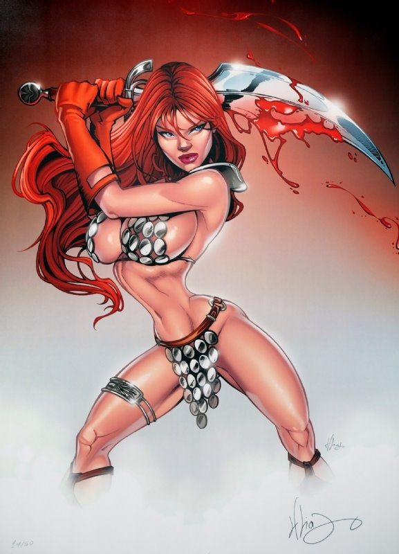Red sonja naked nude are not