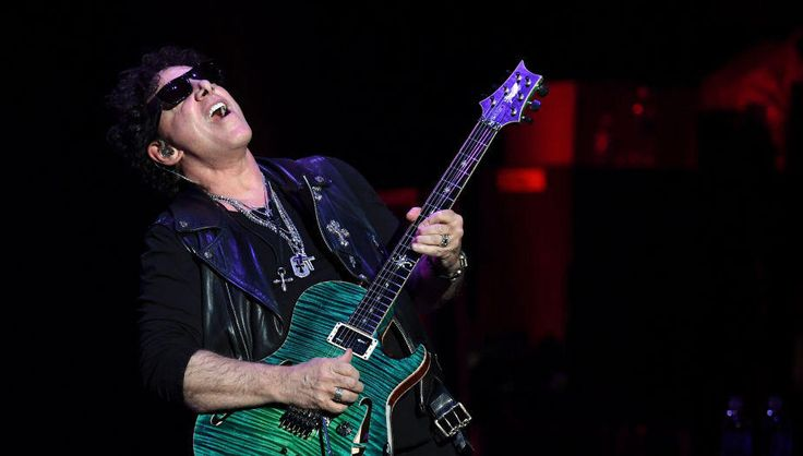 Journey's Neal Schon Reveals Disgusting Trick He Uses on All His Guitars | Maria Milito | Q104.3