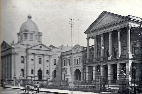 House of Assembly. Taken circa 1905. Pietermaritzburg, Natal