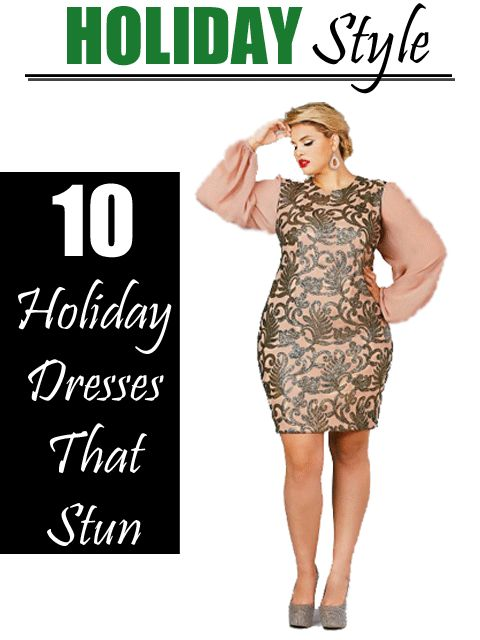Best 25  Plus size holiday dresses ideas only on Pinterest ...