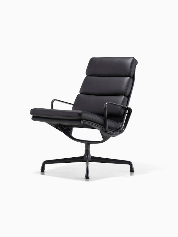 Eames Soft Pad Lounge Chair Charles Ray Eames 1969 Herman