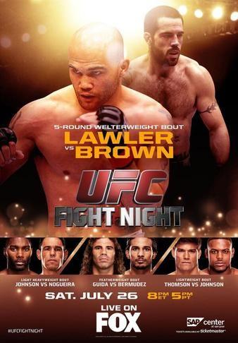 UFC+On+Fox+Commentators   UFC on FOX 12: Lawler vs. Brown