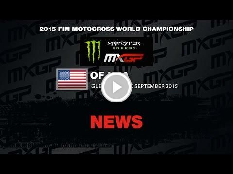 Monster Energy MXGP of the USA motocross news highlights 2015