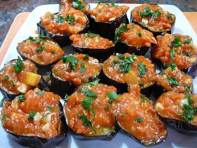 ile recetas: Berenjenas con tomate y ajo