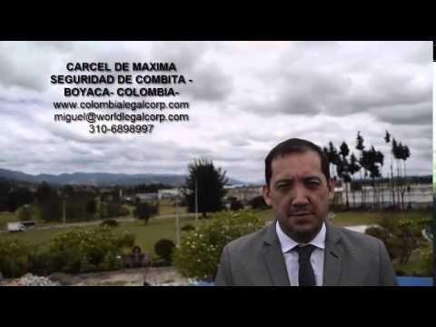 Cárcel La Cómbita - Visitas de abogados de World Legal Corporation - YouTube