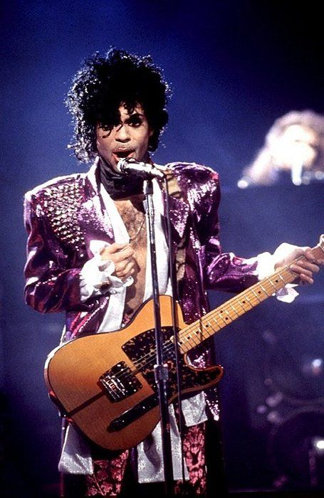 Spectacular Purple Rain Tour photo!