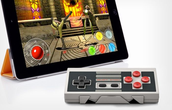 NES30 Bluetooth Controller Offers Retro Precision Gaming - Features of the NES30 Bluetooth controller include multiplayer support, reprogrammable keys a precision D-Pad control together with a rechargeable battery that is capable of providing over 20 hours of use on a single charge. The NES30 is compatible with iOS, Android, Mac, Windows, Wii and emulated games and Bluetooth-capable iOS, Android, Mac or Windows hardware. | Geeky Gadgets