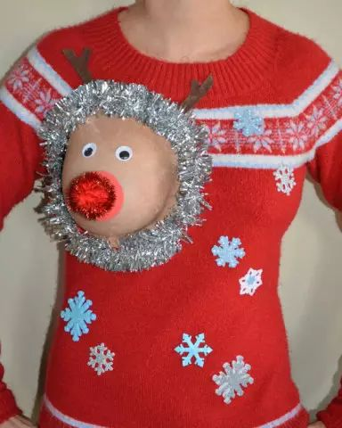 Some of these ugly sweaters are intended to be risqué, and others  perhaps unintentionally naughty. Regardless, the results are hilarious.  Here's are 16 great examples of the new trend in Ugly Christmas  Sweaters, the ugly, naughty and oh so wrong...