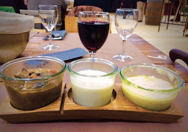 Restaurant L'Oxer pour le Jumping International de Bordeaux, douelles en bois