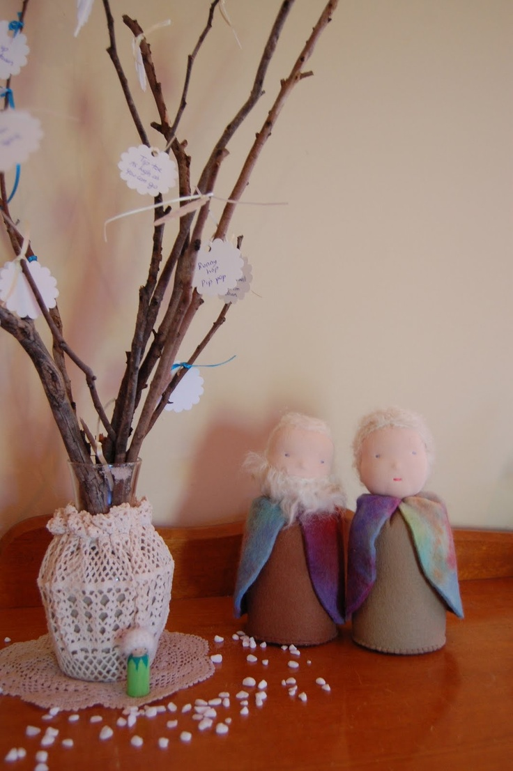 Winter nature table - Game This Is Our Winter Tree