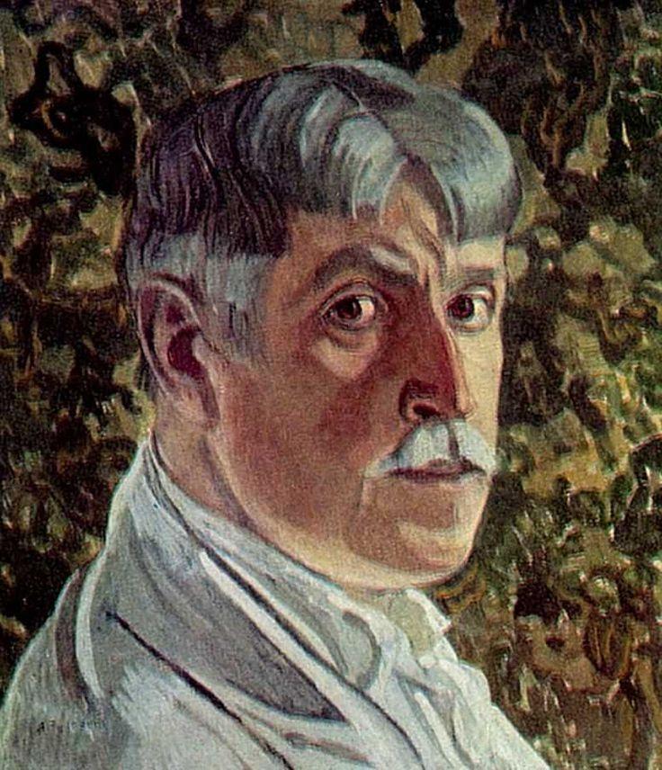 Alexander Golovin 1863-1930 Self portrait