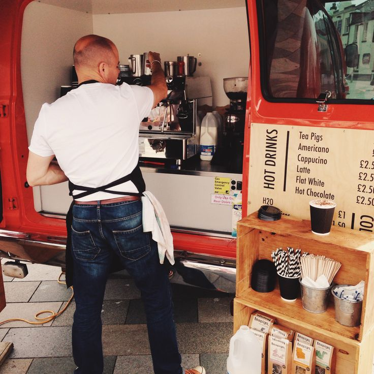 mobile coffee vendor van gloucester