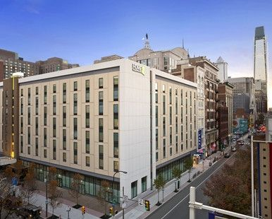 Home2 Suites by Hilton Philadelphia - Convention Center Hotel, PA - Exterior Dusk