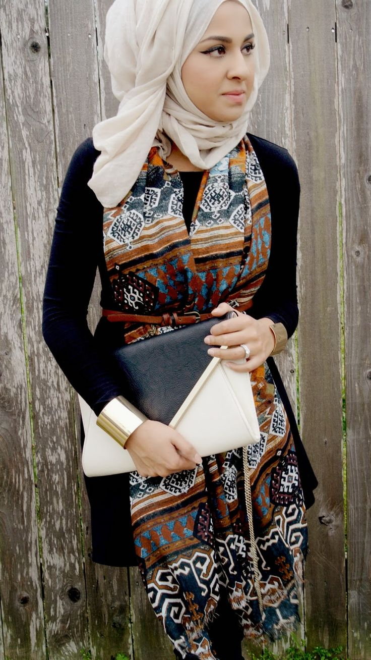 Sincerely Maryam -- love the prints here #hijab #hijabi #style #fashion
