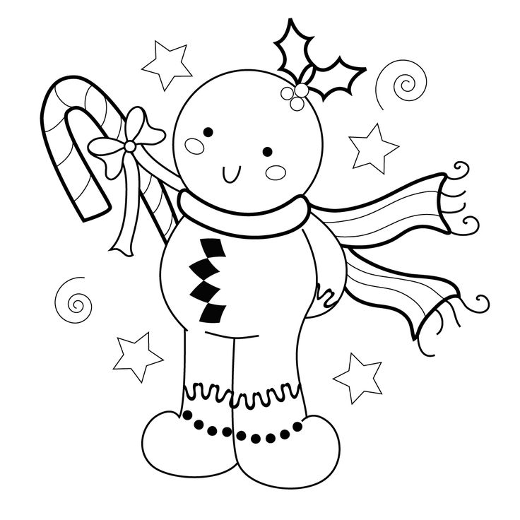 119 Best Coloring Christmas Images On Pinterest Color