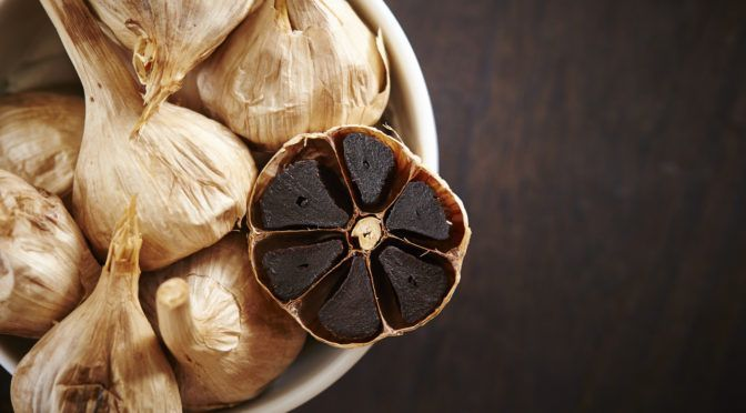 BLACK GARLIC: AN ANTIOXIDANT POWERHOUSE WITHOUT THE GARLIC BREATH OCTOBER 5, 2016 | DEREK HENRY