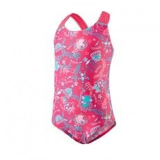 Speedo Seesquad Allover badpak junior vegas pink @speedo