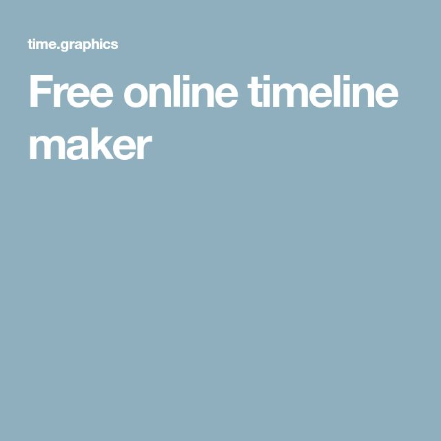 Best 25+ Timeline maker ideas on Pinterest Free timeline maker - readwritethink resume generator