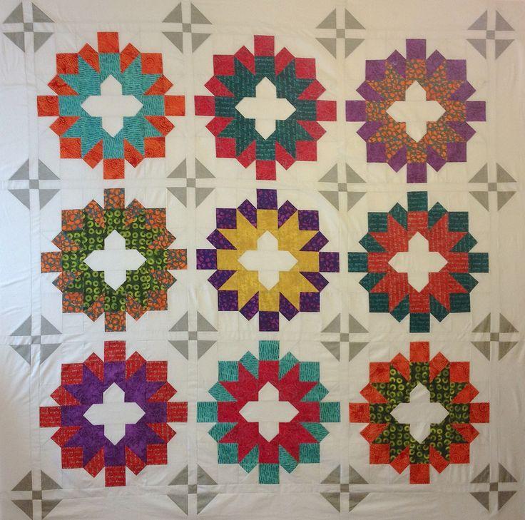 Shivaun Place Quilt Kit #basic-piecing #inked #intermediate #kit #lynn-krawczyk #modern #quilt #quilt-kit #red-rooster-fabrics #sassafras-lane-designs #shivaun-place